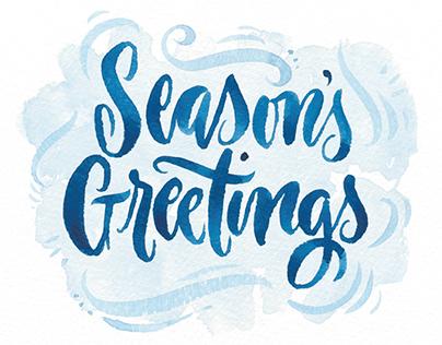 Festive Season's Greetings