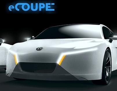 eCoupe: Volkswagen Video Game Car Concept