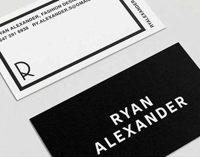 Ryan Alexander Brand Identity