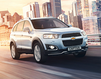 Captiva visuals — Chevrolet