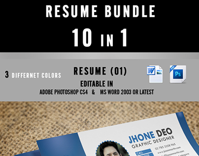 Resume Bundle 10 in 1