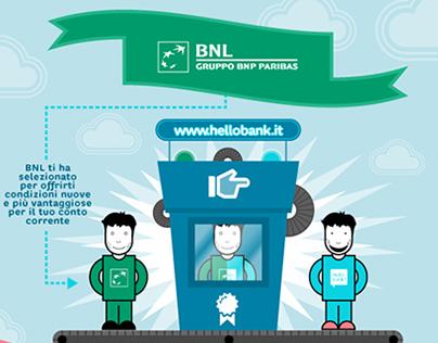 Hello bank! Migration Campaign
