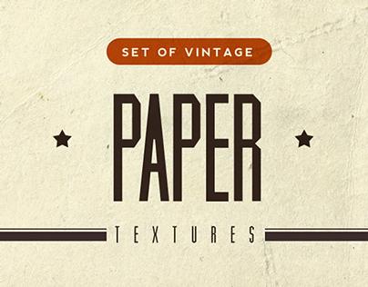 Free Vintage Paper Textures Vol.1