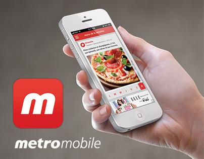 Metro - Application mobile
