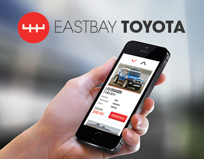 Eastbay Toyota - Responsive website