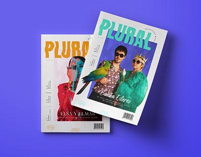 PLURAL · Diseño Editorial