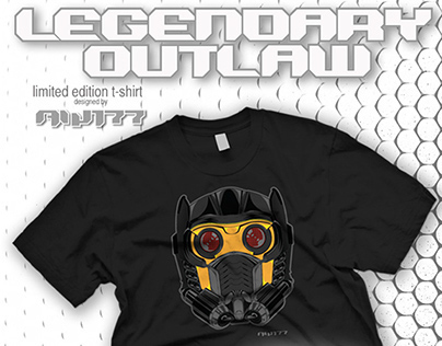 "outsmART originals: ""Legendary Outlaw"" T-Shirt"