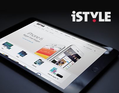 iStyle webshop redesign