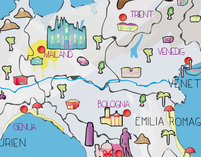 Illustrated Maps for Kids
