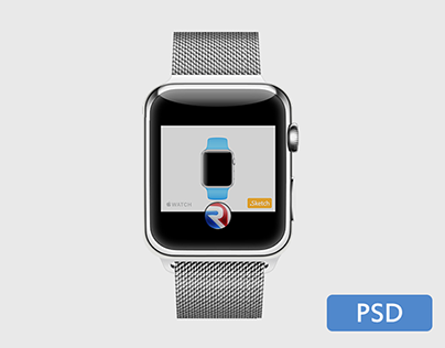 Apple Watch .[PSD]