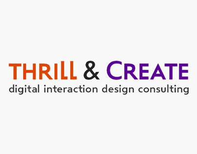 Thrill & Create rebrand and design
