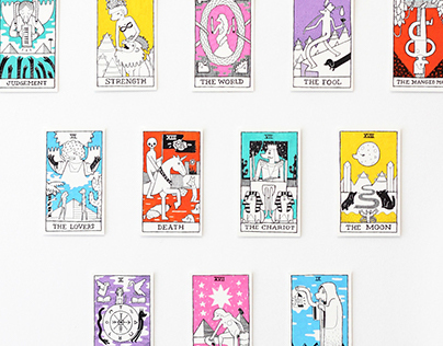 Back & Forth - Min's Tarot Deck