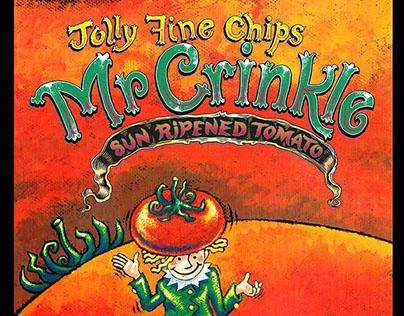 Mr Crinkle Potato Crisps