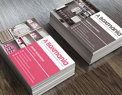 Business Card for Home Organizing Company
