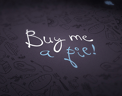 Buy me a pie! Logo and style