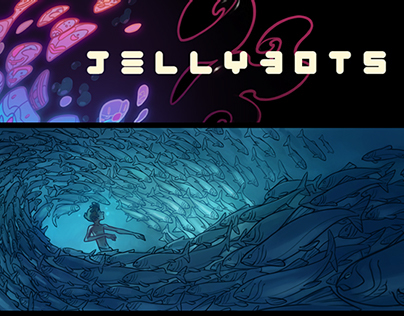 Jellybots: Part 1 (Books for Sale!)