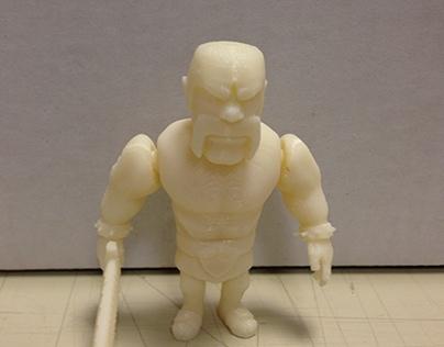 ILLUSTRATION OF 3D PRINTING
