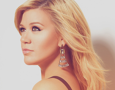 Kelly Clarkson Site & T-shirt POC, Sony Music