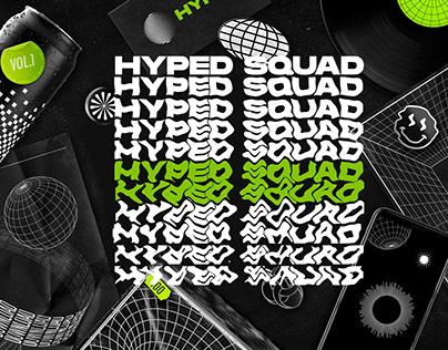 HYPED SQUAD - FORMAS ABSTRATAS VOL 1.