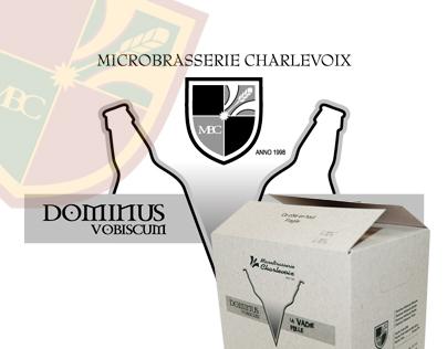 Boîte de transport - Bières Dominus et La Vache folle