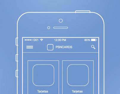 PSN Cards UX - 2014