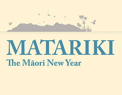 Matariki Booklet/Calander