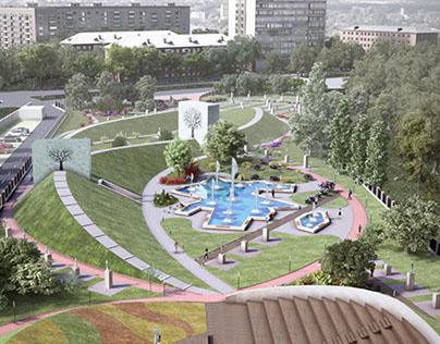 U0026quot;Azerbaijanu0026quot; Park In Odessa. Ukraine On Behance