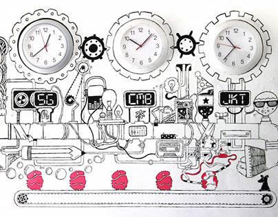 The Creative Machine - Mural (2013)