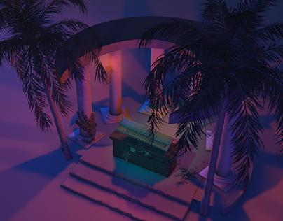 The Calling - 3D Album Cover design