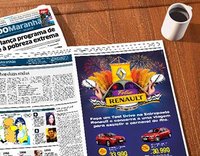 Entreposto Renault - Campanha Folia Renault