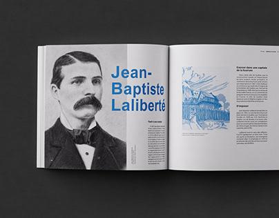 Livre historique - Laliberté
