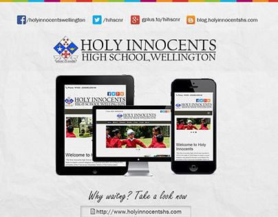 Holy Innocents Web Designing