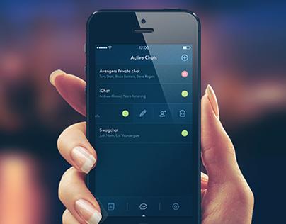 Privado iPhone App