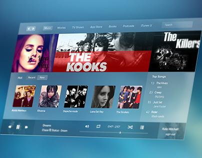 iTunes Concept