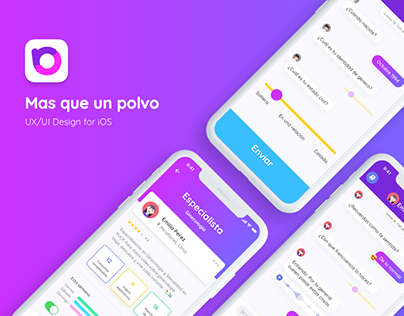 Mas que un polvo® App - UI/UX Design for iOS