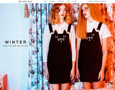 Lazy Oaf - Winter 2014 Womenswear Look Book