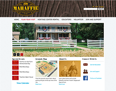 Mahaffie Stagecoach Stop & Farm Historic Site