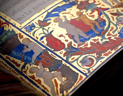 Varia - restoring a manuscript from the 14th century