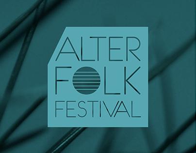 Alter Folk Festival - branding identity