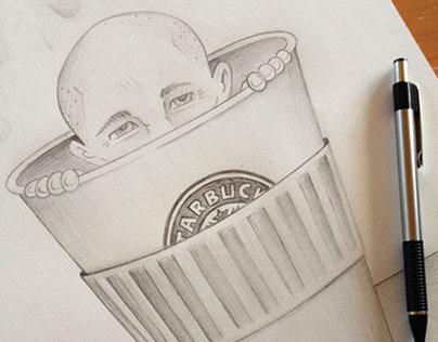 Brian Gardner, Starbucks Fiend