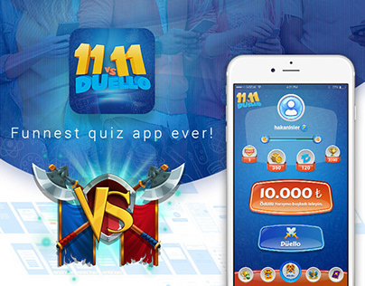 Gamification Quiz App UI-UX