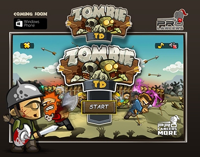 zombie tower defense mobile game