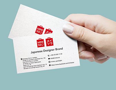 Miniso Azerbaijan business card