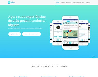 Landing Page - EYHEE