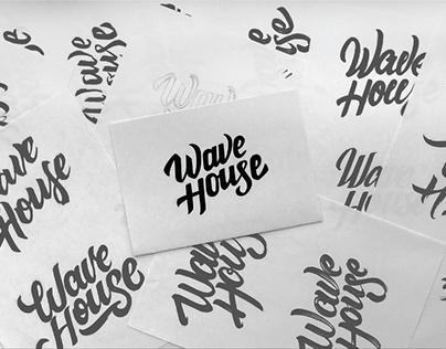 Wave house / Surf school branding