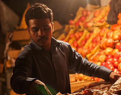 Roadside Fruit Seller