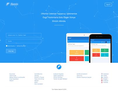 One Page Company Web Design