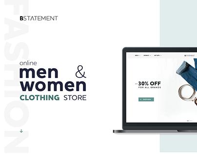 Bstatement Store Design