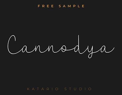 Free Cannodya Font