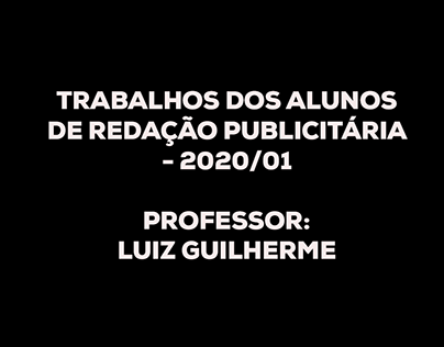 Redação Publicitária - 2020/01
